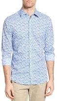 Gant Men's Flower Print Sport Shirt