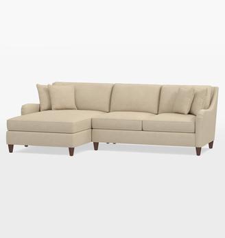 Rejuvenation Vailer 2-Piece Chaise Sectional Sofa - Left Chaise