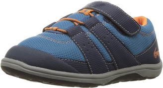 See Kai Run Boys' Rainier II Blue Sneaker 4.5 M US Toddler
