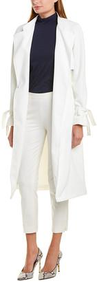 Rachel Roy Long Trench Coat