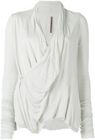 Rick Owens Lilies crossed fastening cardigan - women - Cotton/Polyamide/Viscose - 40
