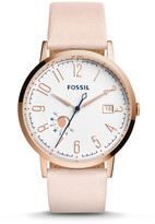Fossil Vintage Muse Blush Leather Watch