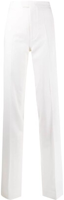 ATTICO High-Waisted Side Stripe Trousers