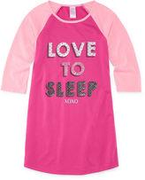 Asstd National Brand Girls Nightshirt-Big Kid