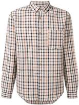 A.P.C. checked pocket shirt