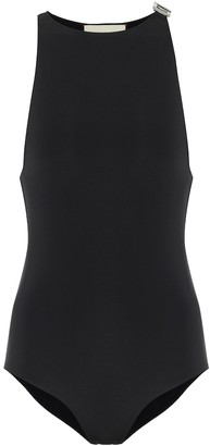 Gucci Square G crystal-embellished swimsuit