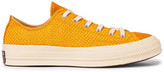 Converse 1970s Chuck Taylor All Star Suede-Trimmed Woven Sneakers