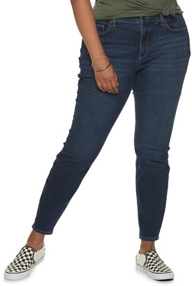 Mudd Juniors' Plus Size Mid-Rise Vintage Stretch Skinny Jeans