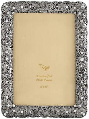 "Tizo Designs Jeweled Photo Frame, 4""x6"""