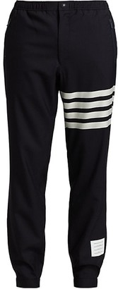 Thom Browne Stripe Wool Joggers
