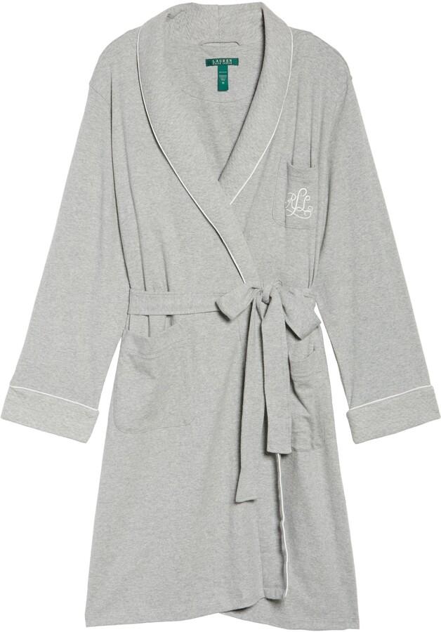 Thumbnail for your product : Lauren Ralph Lauren Shawl Collar Robe