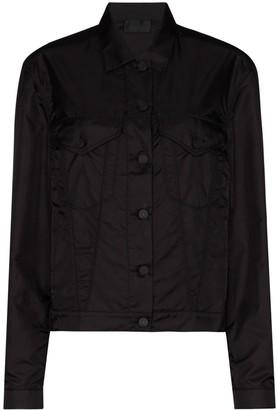 RtA Erika buttoned boyfriend jacket