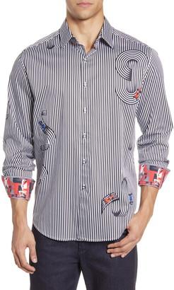 Robert Graham Chicane Classic Fit Button-Up Shirt