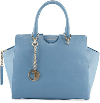 Versace Leather Top-Handle Satchel Bag