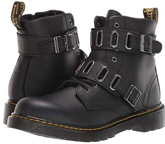 Dr. Martens Kid's Collection 1460 Quynn (Big Kid) (Black) Kid's Shoes