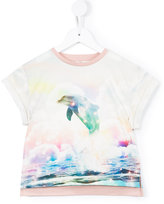 Stella McCartney dolphin print T-shirt - kids - Cotton - 2 yrs