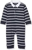 Tommy Hilfiger Baby Boys' Big Stripe Coverall L/S Footies