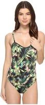 Lucky Brand Coastal Palms One-Piece Women's Swimsuits One Piece