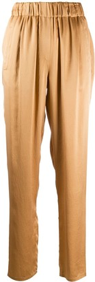 Forte Forte Elasticated Straight-Leg Trousers