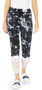 Tommy Hilfiger Cotton Tie-Dyed Jogger Pants