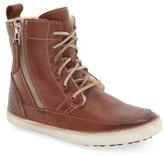 Blackstone Women's 'Cw96' Genuine Shearling Lined Sneaker Boot