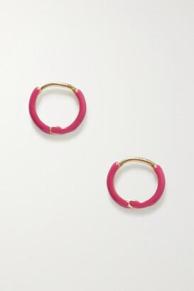 Fry Powers Unicorn Rainbow Silver, Enamel And Citrine Ring - Pink