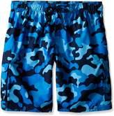 Kanu Surf Men's Big Camo Extended Size Swim Trunks