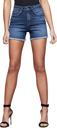 Good American Bombshell Denim Shorts