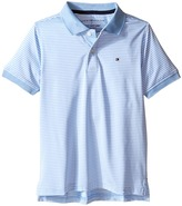 Tommy Hilfiger Feeder Stretch Synthetic Stripe Polo (Toddler/Little Kids)