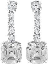 FANTASIA Asscher-Cut CZ Drop Earrings