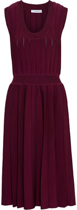 CASASOLA Pleated Knitted Dress
