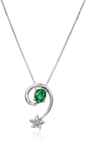 Tagliamonte Incanto Royale Emerald and Diamond Star 18K Gold Pendant Necklace