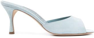 Manolo Blahnik Jada open-toe leather sandals