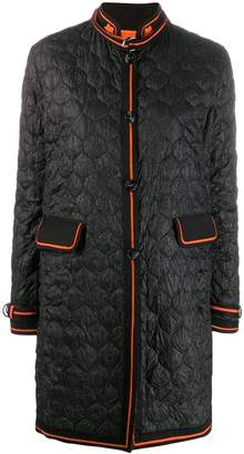Ermanno Scervino quilted chinese-styled coat