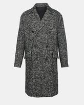 Theory Wool Herringbone Oversized Coat