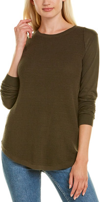 Autumn Cashmere Cotton By Thermal Stitch Sweater