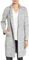 Kenneth Cole New York Women's Jersey Knit Reefer Coat