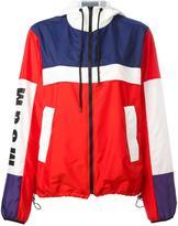 MSGM hooded zipped jacket - women - Polyamide/Polyester - 40