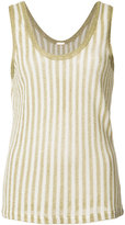ADAM by Adam Lippes stripe knit tank top