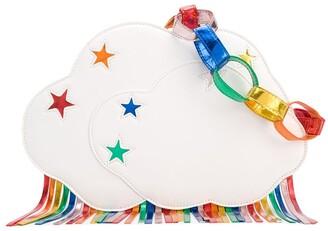 Stella McCartney Kids Fringe Cloud-Shaped Shoulder Bag