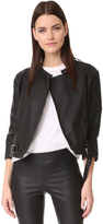 David Lerner Griffin Faux Leather Jacket