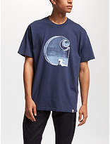 Carhartt WIP Way Through Big Logo T-Shirt, Blue