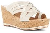 Donald J Pliner Flore Metallic Wedge Sandal