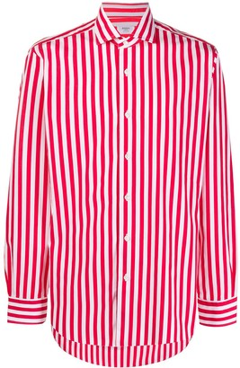 Barba Candy-Striped Long Sleeve Shirt