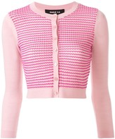 Paule Ka cropped knitted cardigan