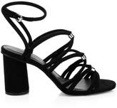 Rebecca Minkoff Apolline Ankle-Strap Suede Sandals