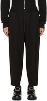 McQ by Alexander McQueen Black Taigen Lounge Pants