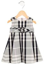 Burberry Girls' Nova Check Belted Dress w/ Tags