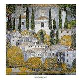 Gustav 1art1 Posters Klimt Poster Art Print - Church In Cassone At Gardasee (28 x 28 inches)
