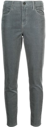 J Brand Corduroy Skinny Cut Trousers